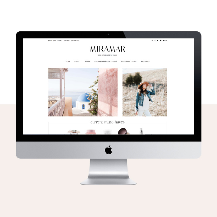 empress themes wordpress themes for style bloggers